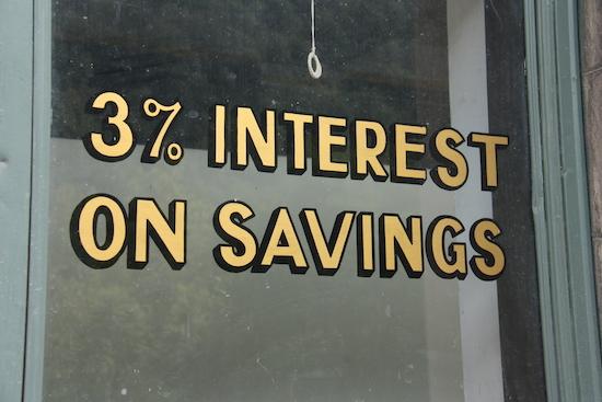 3% interest on a savings account? Sign me up!