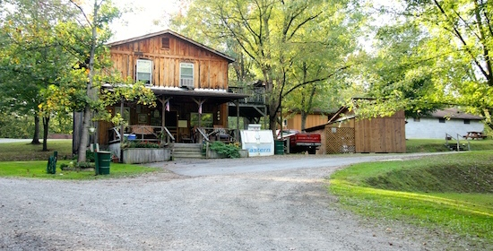 New River Gorge:  Rifrafters Campground