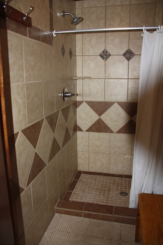 Hatteras Sands Campgrounds showers are close to the very best!