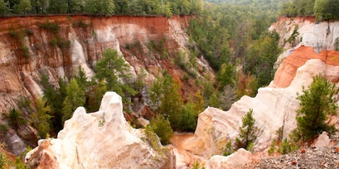 Providence Canyon State Park, SW GA