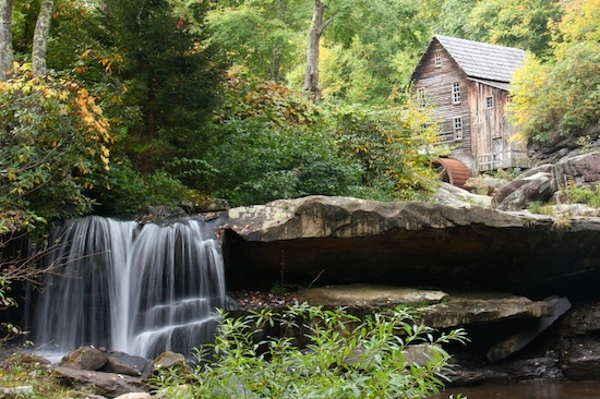 Grist Mill Babcock State Park, WV