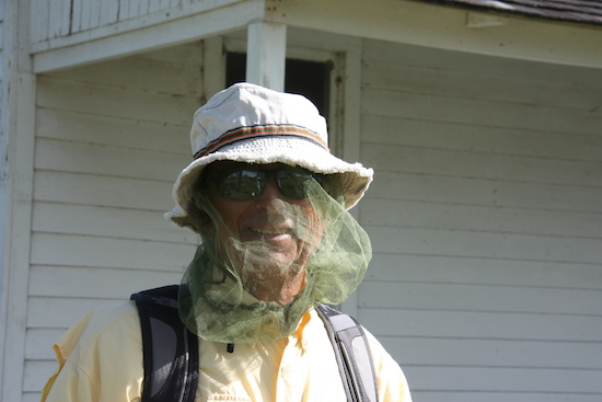 Mosquito nets and 100% deet were necessities for our Portsmouth Village visit. Don't underestimate the mosquitoes!