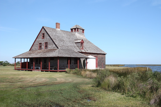 The Portsmouth Life Saving Station - prior to the US Coast Guard.
