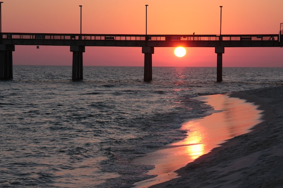The longest fishing pier in the Gulf awaits anyone wanting to try their hand at surf fishing ...