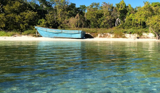 Camping On Water:  Marquesas Atoll
