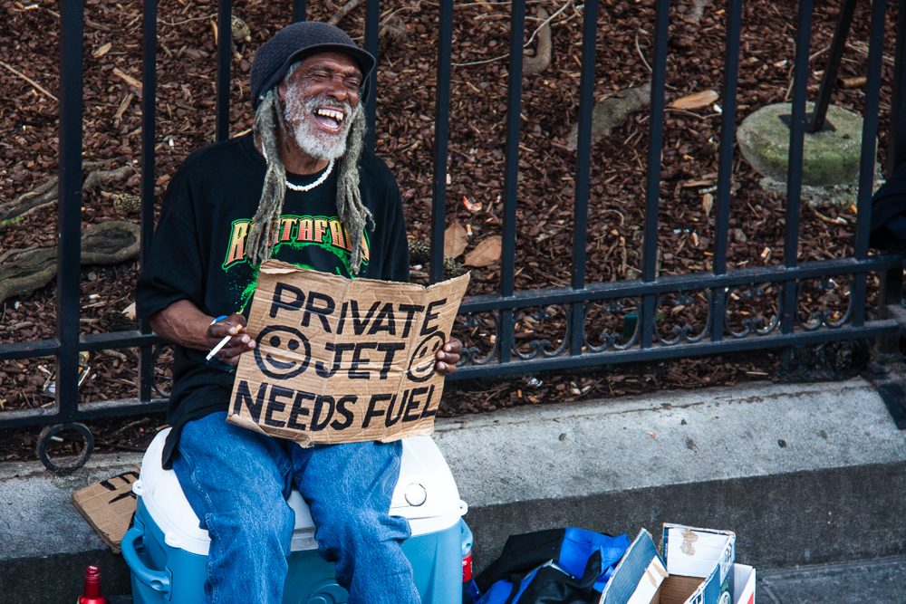 "My 2nd favorite street ""entrepreneur"""
