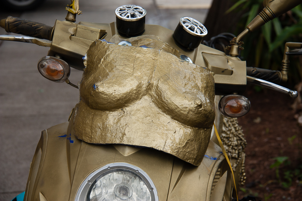 Anyone need a little extra with their scooter?