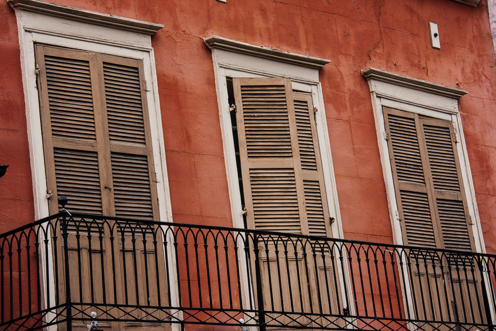 Unhinged in New Orleans?