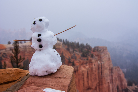 Our first experience at Bryce Canyon wasn't exactly as I had imagined it....