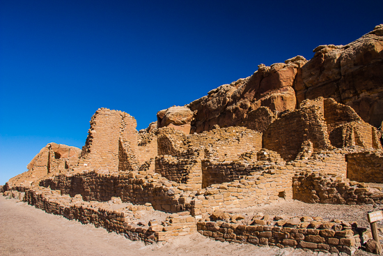 Wijiji Ruins - reached by hiking the Wijiji Trail, trailhead by the campground.