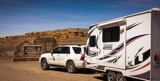 towing a travel trailer with a 6 cyl toyota 4 runner. Black Bedroom Furniture Sets. Home Design Ideas