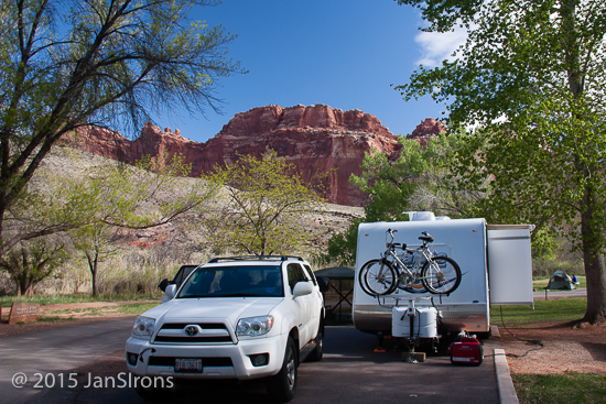 Fruita Campground, Capitol Reef Nat'l Park.