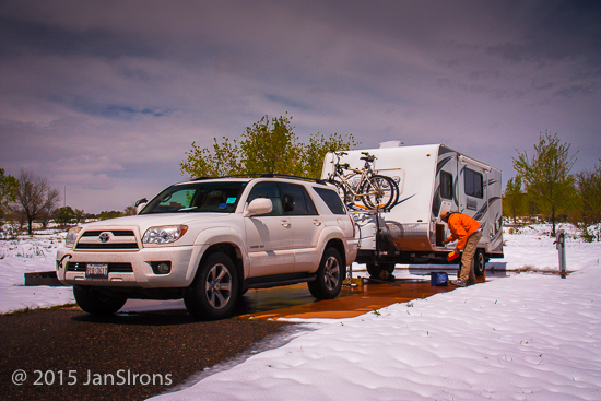 Toyota 4runner Towing Capacity >> Towing A Travel Trailer With A 6 Cyl Toyota 4 Runner Trailer Traveler
