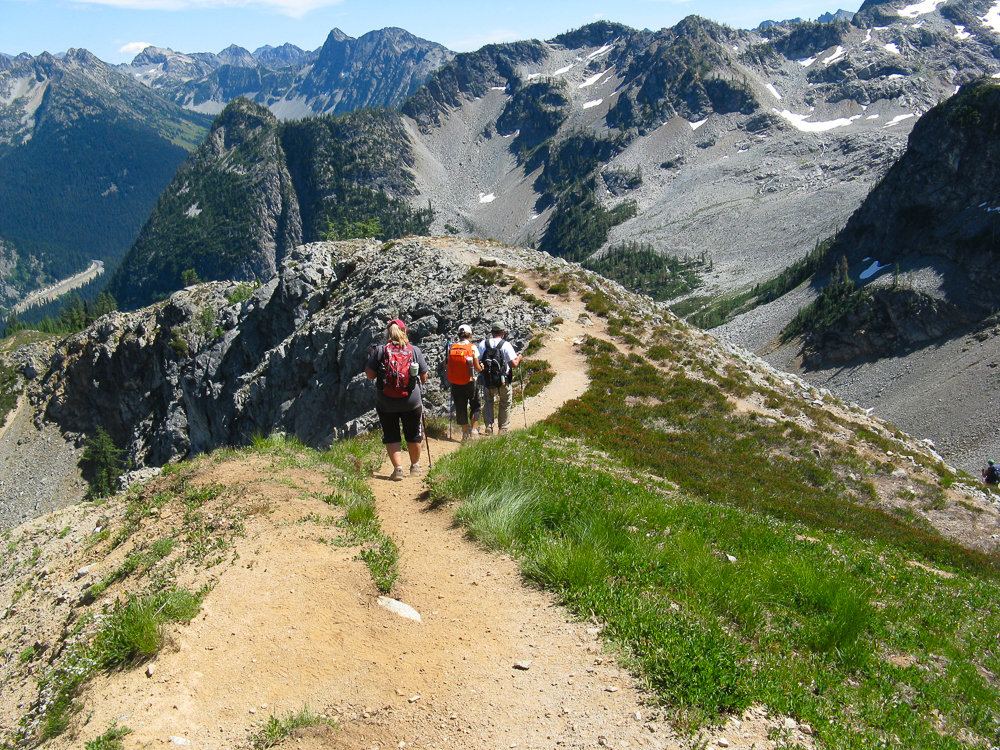 Hiking in the North Cascades ... can't wait to return, need to stay in shape to get up this high!