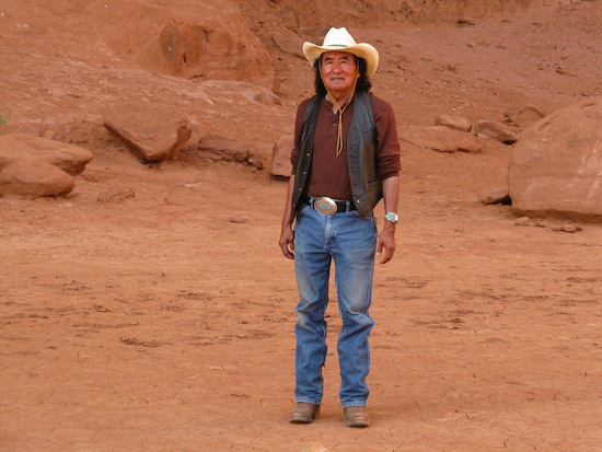 Navajo Spirit Tour leader, Don - who inspired and informed us with tradition and wit.