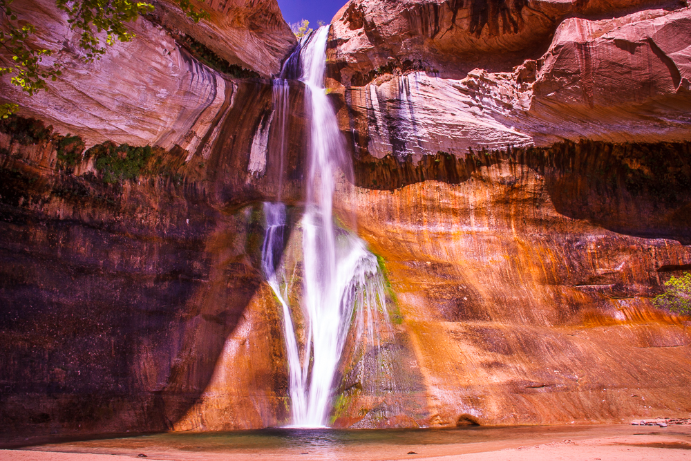 Lower Calf Creek Falls - Trailhead off Scenic Byway 12. The hike and the falls are amazing.