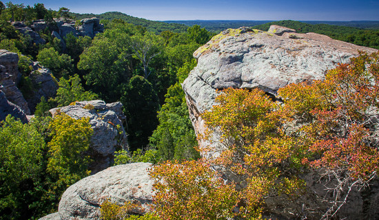 Shawnee national forest southern illinois trailer traveler Directions to garden of the gods illinois