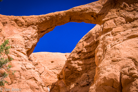Shakespeare Arch isn't as spectacular as Grosnever Arch on Cottonwood Canyon Road a few miles outside the park, but it was worth the short hike.