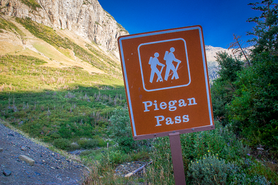 Piegan Pass Trailhead