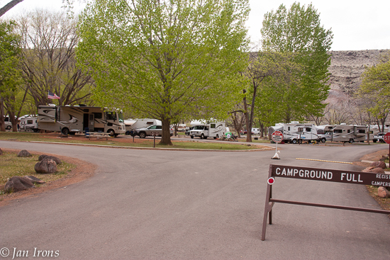 Campground FULL - yep, every day by late morning in our experience.