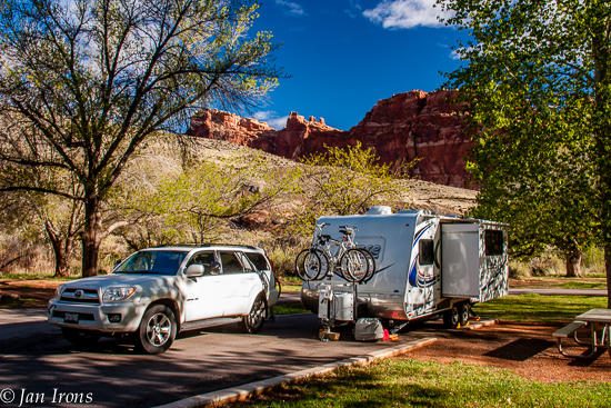 Best. Campsite. in Fruita Campground.