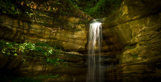 Chasing Waterfalls in Illinois:  Starved Rock State Park!