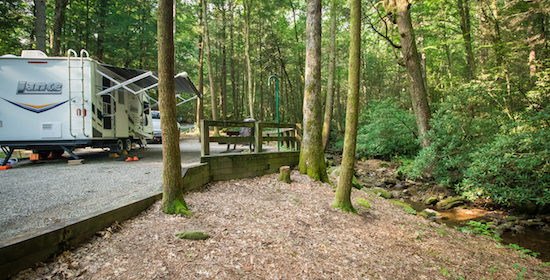 Camping With Waterfalls: Vogel State Park GA