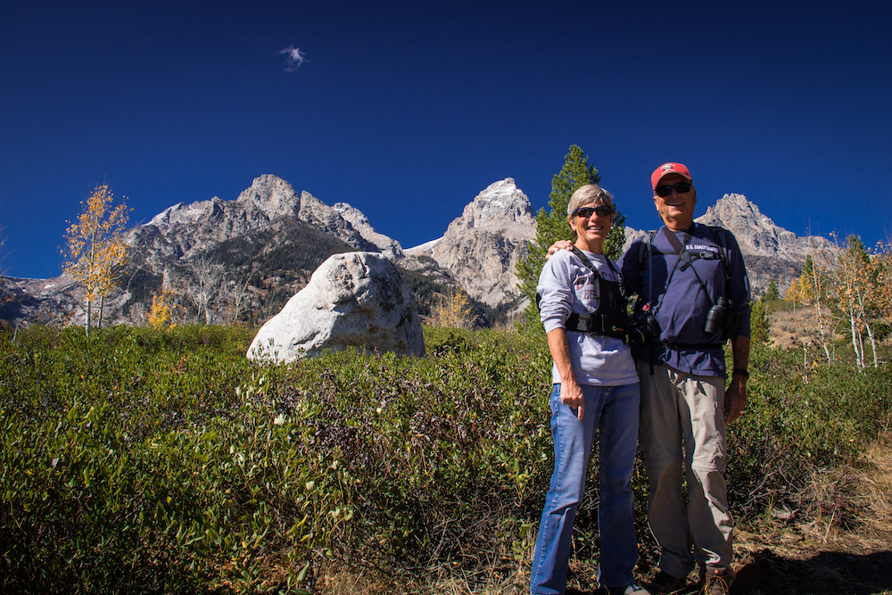 Hiking to Taggart and Bradley Lakes in the Grand Tetons National Park was an unexpected highlight!