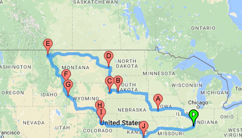 The Route West & What We'll Do Differently Next Time