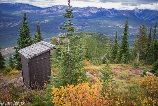 We did it to see the best view from an outhouse - EVER! But watch out for grizzlies.