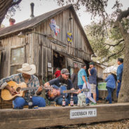 When is a US Post Office Also a Dance Hall?  Only in Luckenbach, Texas…
