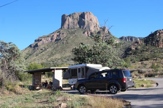 Big bend national park camping with full hookups